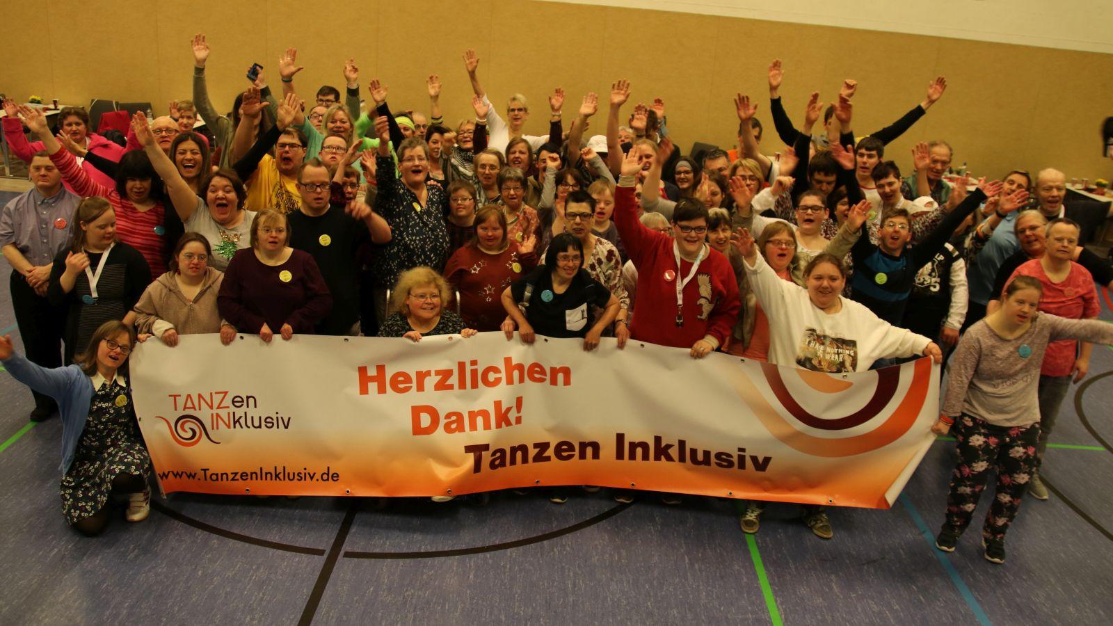 1. TanzIN-Festival mit Menschen mit geistiger Behinderung 2020